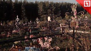 Торгует местами на кладбище