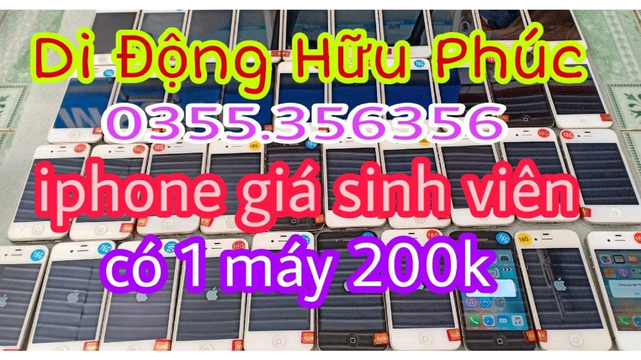 08.01.2020. Điện thoại cũ giá rẻ. iphone 4s về nhìu giá rẻ, duy nhất 1 máy có giá 200k. 0355356356