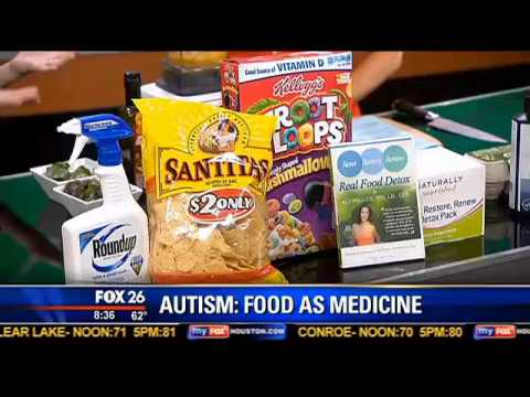 Preparing Food To Help Treat Autism In Children