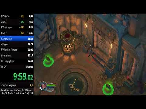 Lara Croft and the Temple of Osiris Speedrun (Current WORLD RECORD) 1:02:18