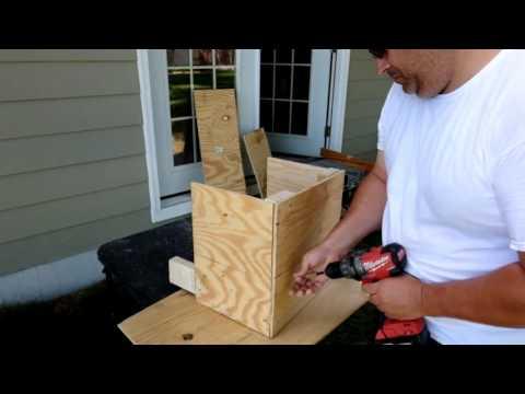 Building a Chicken Nesting box