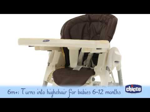 Chicco Polly Magic Highchair – Demonstration Video | Babysecurity