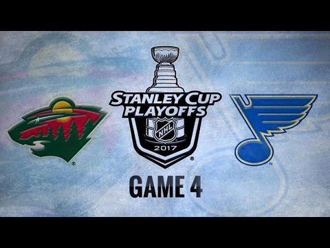 Minnesota Wild Vs. St. Louis Blues Game 4   NHL Game Recap   April 19, 2017   HD