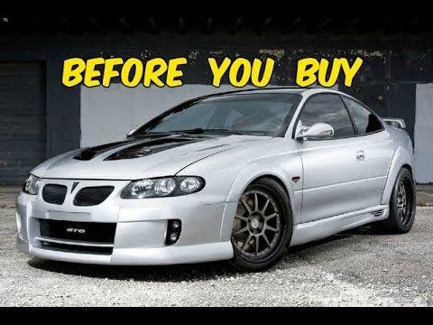 Watch This BEFORE You Buy a Pontiac GTO (2004-2006) A.K.A Australian Corvette