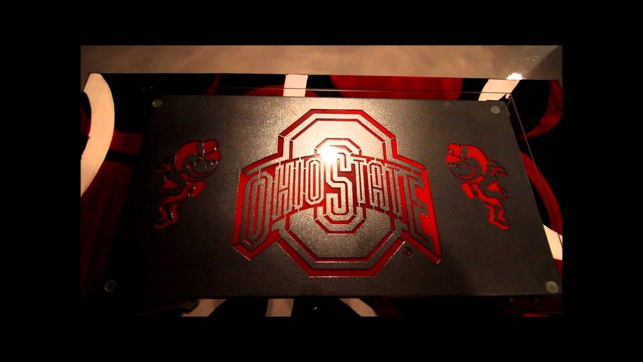 Ohio State Bedroom Ohio State Basement Youtube