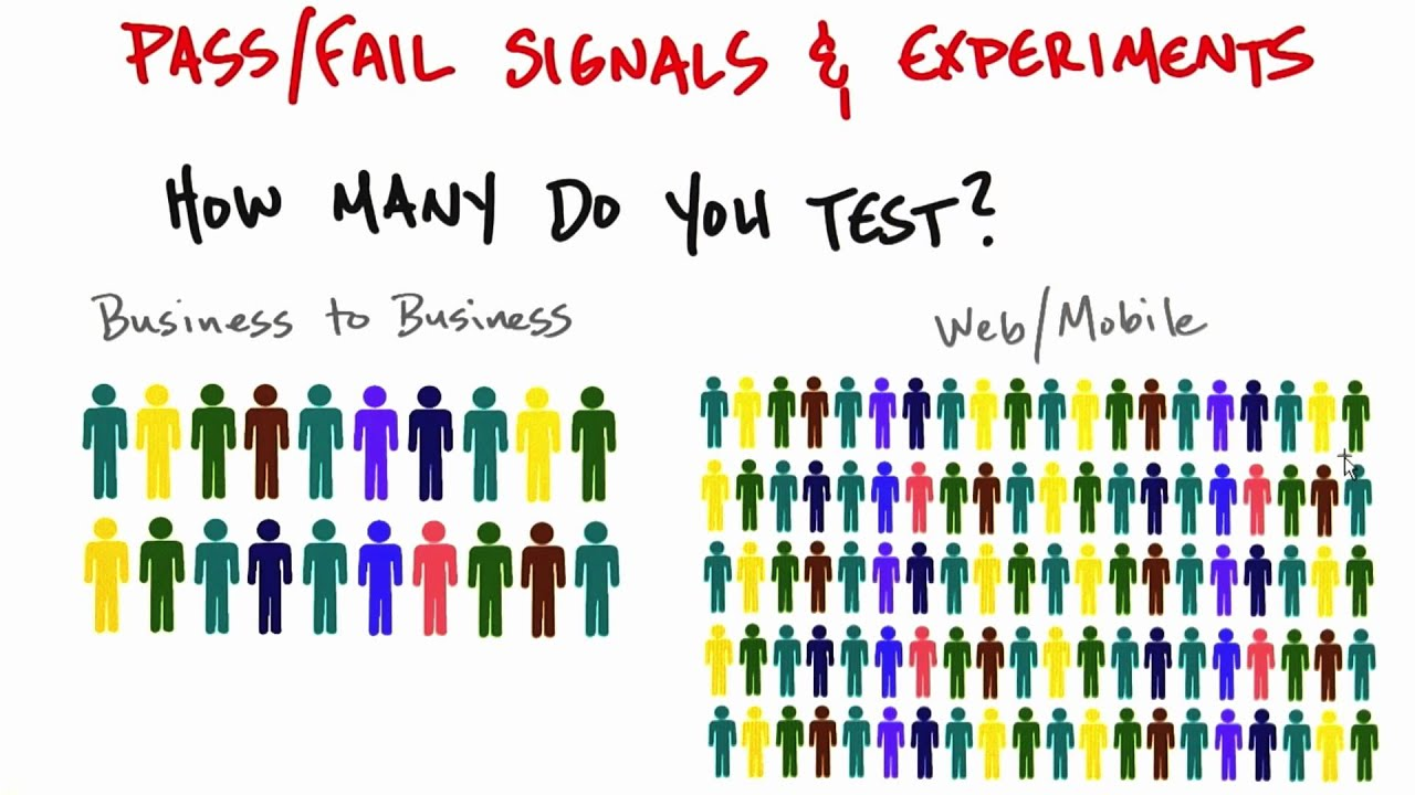 Signals And Experiments - How to Build a Startup