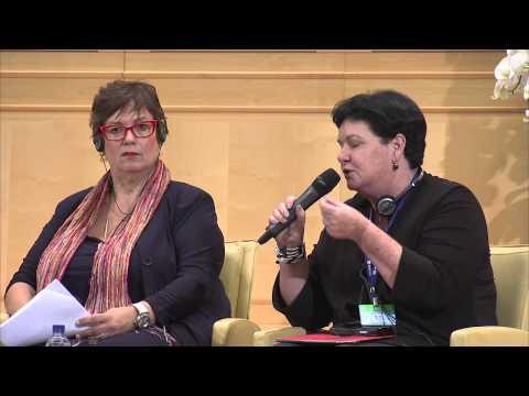 ITUC's Sharan Burrow at the 2015 World of Work Summit