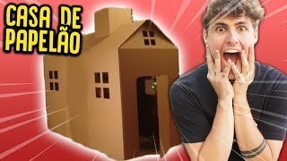 FIZ UMA CASA DE PAPELÃO !! ( BOX FORT !! ) [ REZENDE EVIL ]