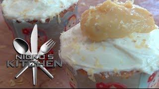 Lemon Cheesecake Cupcakes - Video Recipe