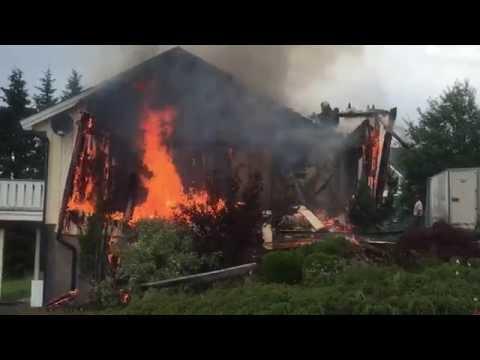 Brann i bolig
