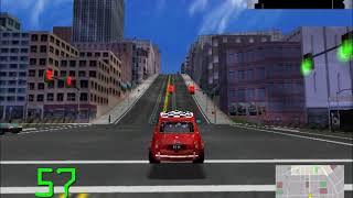 Midtown Madness 2 (Trail Version) Gameplay