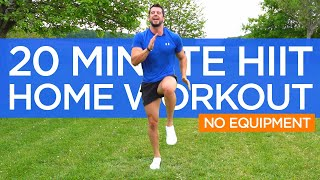 20 Minute HIIT Full Body Fat Burning | Home Workout | No equipment