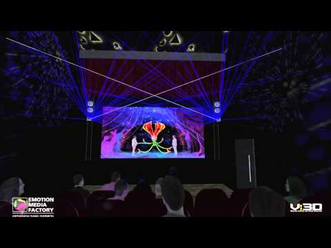 Emotion Media Factory: 3D HoloPort Attraction in Phoenix City Shopping Complex in Chennai, India