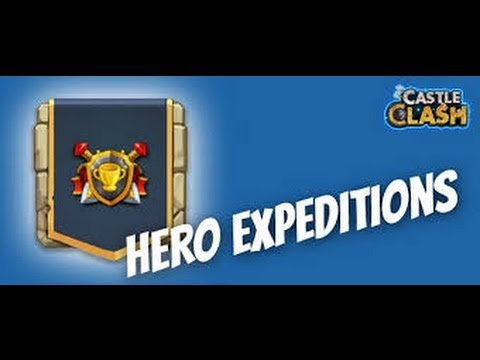 Castle Clash:Best Heroes For Expedition
