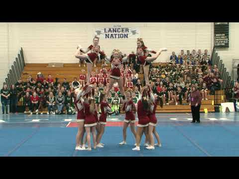 Killingly High School at 2019 ECC Cheerleading Championship