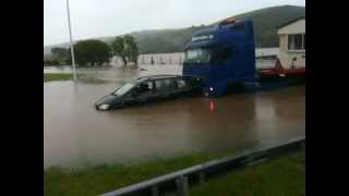Storms & Flooding in Blaendolau Aberystwyth Ceredigion Mid Wales