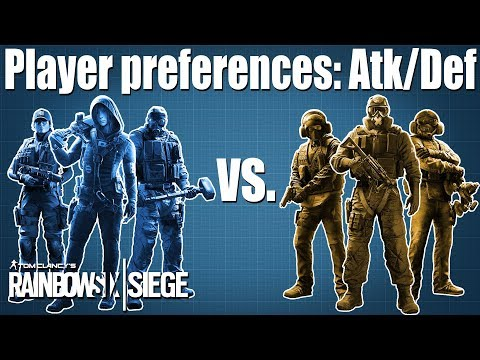 Is it easier to Attack or Defend? - Rainbow Six Siege