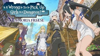 How Danmachi: Memoria Freese Is Censored In English