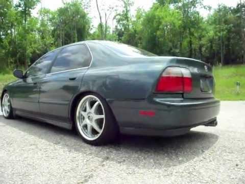 96 Honda Accord Sedan Cd5 Jdm Slammed Youtube