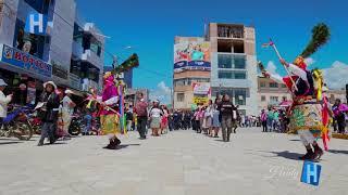 Pasacalle 2018 - Danza Guerrera de los Shapish - 3 Mayo 2018