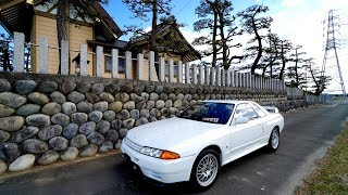 DRIVING MY R32 GTR VSPEC IN JAPAN!!