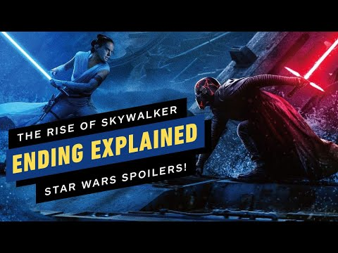 Star Wars The Rise Of Skywalker Ending Explained What Happened To Rey And Kylo Ren Youtube