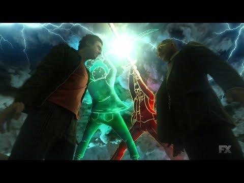Legion 2x11 - David & Farouk sings