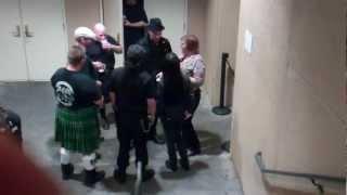 """Nathen Maxwell Flogging Molly """"Smoking Area"""" Oakland Ca 3/10/12"""