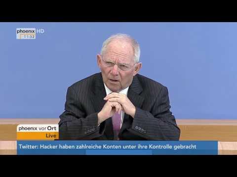Bundeshaushalt 2018: Rede von Wolfgang Schäuble am 15.03.2017