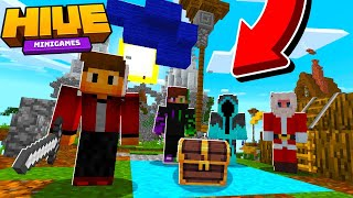 MINECRAFT: Hive Treasure Wars And Minigames With Subs!
