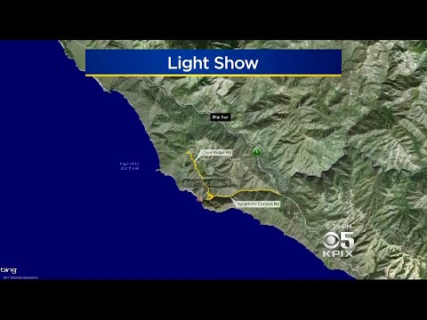 Keyhole Arch Shines Bright In Rare Big Sur Light Show