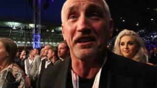 'WE CAN NOW LOOK AT THE DeGALE FIGHT' - BARRY McGUIGAN CANT HIDE EMOTION AS GROVES WINS WORLD TITLE