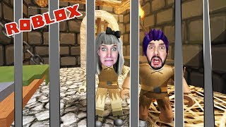 Roblox: FROM PRISON - Nina & Kaan tame dragon guards - ESCAPE THE DUNGEON Obby