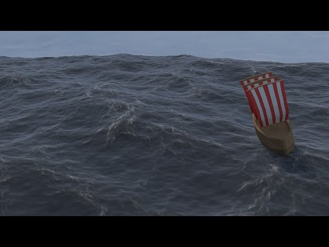 How to make an Ocean in Cycles Blender 2.72!