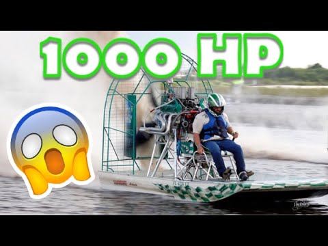 airboat SET PITCH78` WHIRLWIND STUMP PULLER /hold my beer