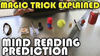 2 Simple Mind-Reading/Prediction Tricks Explained