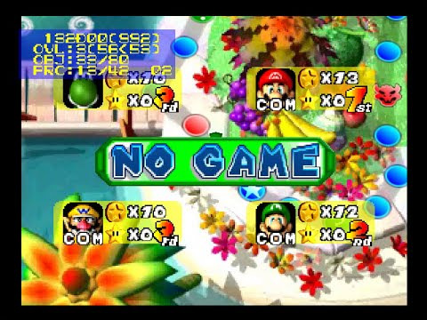 Misc Computer Games - Mario Party - Minigame Insructions