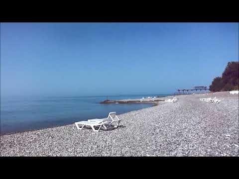 "Пансионат "" Багрипш "". Дорога к морю. Абхазия. Июнь 2019 год."