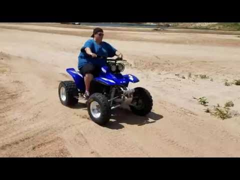 2000 Yamaha Warrior 350 IN THE SAND