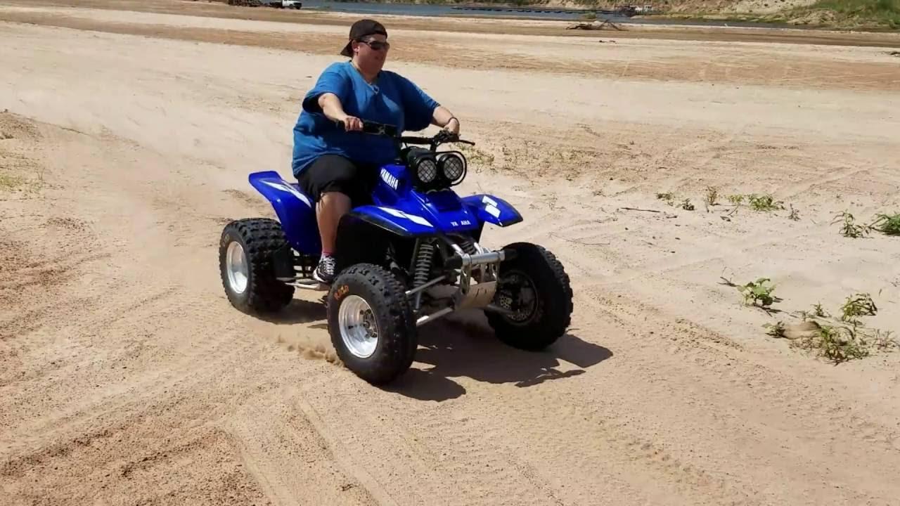 2000 Yamaha Warrior 350 In The Sand