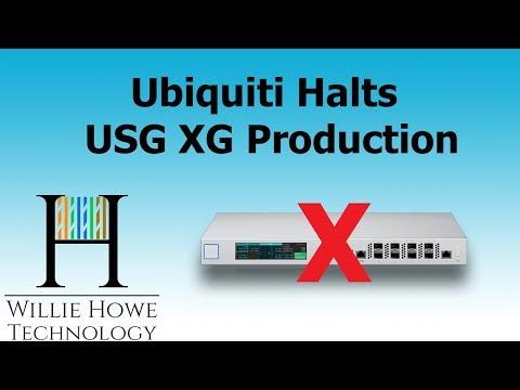 Ubiquiti HALTS USG XG Production - YouTube