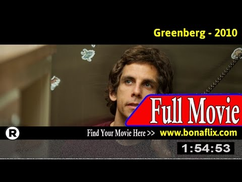 Watch: Greenberg Full Movie Online