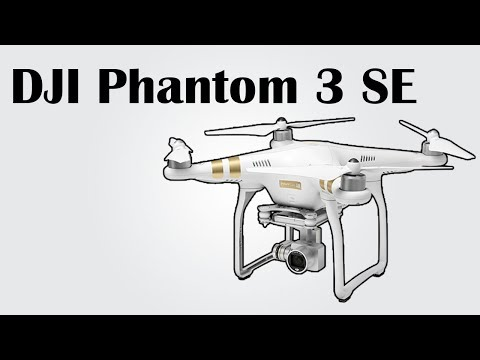 Dji Phantom 3 Se 4k Ultra Hd Video 30fps 4km Control 25