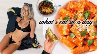 what i eat in a day 2021 (vlog style)