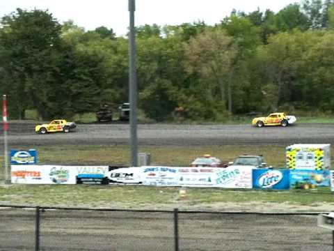 Buffalo River Race Park, Wissota Street Stock Heat, 9-8-2012