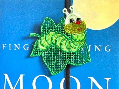 Making Embroidered Bookmarks 2 Ways Fsl Free Standing