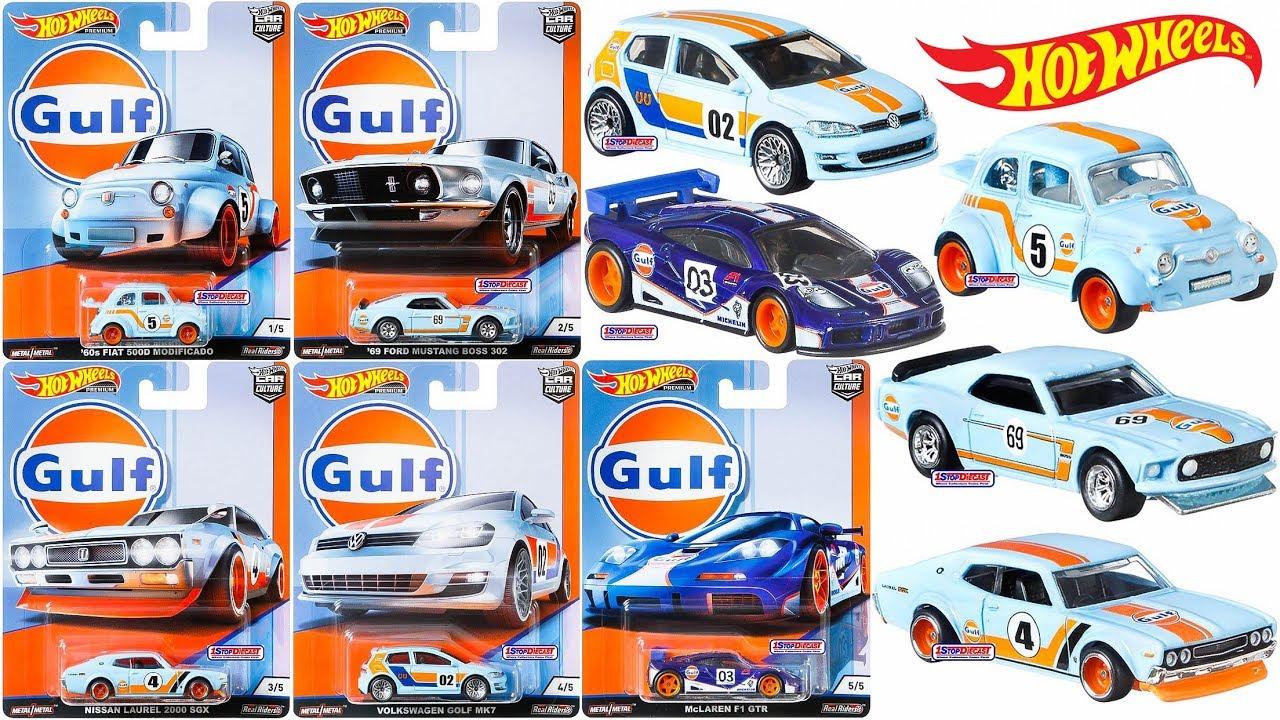 New 2019 Gulf Hot Wheels Car Culture Series!