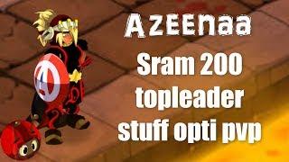 Zapętlaj Dofus Azeenaa (Sram 200 Montage) Présentation stuff opti pvp | Azeena