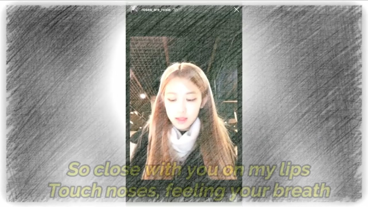 BLACKPINK ROSÉ Cover (Fallin' All In You _Shawn Mendes )