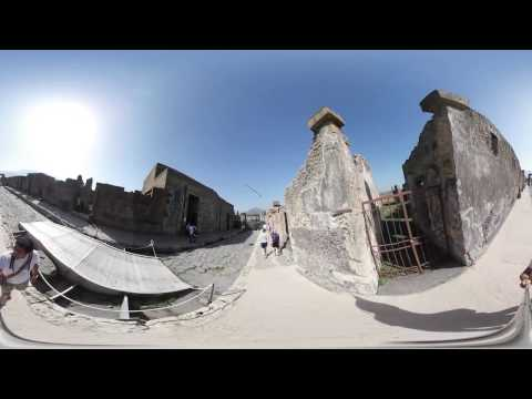 POMPEII AMAZING TOUR IN VR 360° -  ITALY